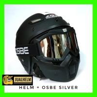 Helm JPN MOMO Google Mask OSBE ( Helm Bogo / Helm Classic )