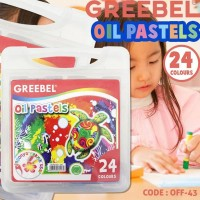 Crayon Krayon 24 Warna Greebel Oil Pastels Off43