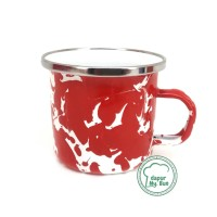 Premium Mug Enamel BLIRIK / BLURIK 150ml / Cangkir Kopi Seng