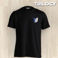 Kaos Premium Brand TRILOGY Anime Attack on Titan Scout Regiment Logo