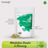 Herbilogy Green Coffee Powder 100g