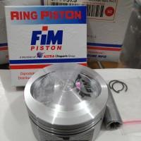 Piston seher kit fim xxb jupiter z vega r new kharisma bore up