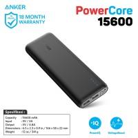 Anker PowerCore 15600 Black - [A1252H11] Portable Power Bank