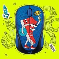 Mouse Wireless Logitech M238 Doodle Collection ORIGINAL RESMI M 238
