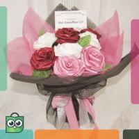 [PRE-ORDER] STANDING FLOWER BOUQUET 6 - 12 TANGKAI / Buket Bunga