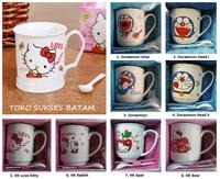 Gelas Mug / Cangkir Keramik Karakter