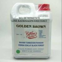 1 kg Perisa golden brown cokelat blackforest chocolate pasta