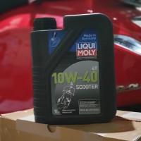 LIQUI MOLY LIQUIMOLY SCOOTER OIL OLI SKUTER 10W-40 ORI MADE IN GERMANY