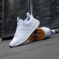 Sepatu Original Adidas Questar Ride White / Putih Running Gym Fitness