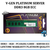Memory RAM Server V-GeN DDR3 8 GB PC-10600 /12800 ECC - Memory Server