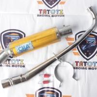 Knalpot Racing CHA Semua Jenis Motor Bebek All Series Jupiter Z