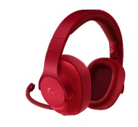 Logitech G433 7.1 Surround Gaming Headset - Red - Free Merchandise