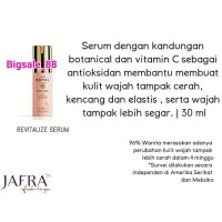 Jafra Royal Jelly Revitalize Serum Vitamin C Royal Jelly RJx