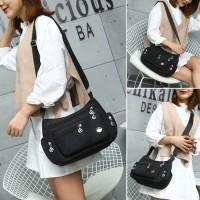 Popular Fashion Women Nylon Shoulder Bag/Tas Selempang waterproof J13M
