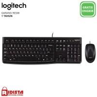 Logitech Combo Keyboard dan Mouse USB MK120 (L072)