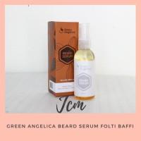 Green Angelica BEARD SERUM Folti Baffi - Penumbuh Bulu Kumis Jenggot