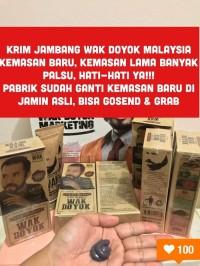 Krim Jambang Wak Doyok Malaysia Original Cream Wakdoyok