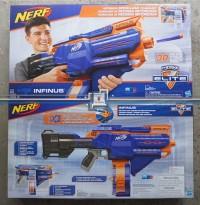 NERF Elite - INFINUS - Isi peluru OTOMATIS - 30 Dart Magazine Motorize