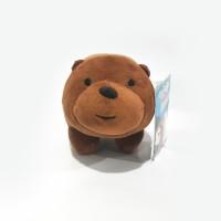 """We Bare Bears Stacking Plush / Boneka Tumpuk 6"""" Grizz"""