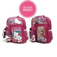 Tas Sekolah Anak Hello Kity,Frozen Lucu Tk Sd Laki / Cowok Perempuan