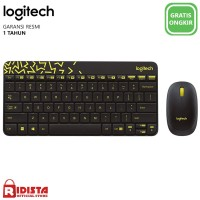 Logitech Wireless Combo Keyboard + Mouse Mk240-hitam-L056