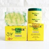 [THE FACE] Paket Set Cream dan Sabun Temulawak The Face