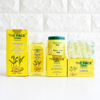 [THE FACE] Paket Komplit Temulawak The Face / Cream+Sabun+Toner