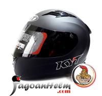 KTY Helm R-10 / R10 SOLID Black Doff