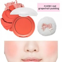 ETUDE HOUSE LOVELY COOKIE BLUSHER #RD301 RED GRAPEFRUIT PUDDING