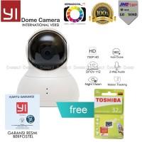 Xiaomi Yi Dome Ip Camera CCTV 360 Peket Micro SD