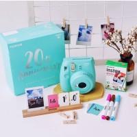 Fujifilm Instax Mini 9 Anniversary Aqua Green Kamera Polaroid