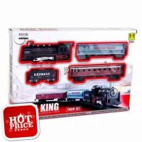 Rail King Classical Train Mainan Set Gerbong Kereta Api 190514