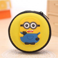 Jaminan Termurah! Case Mini Earphone Model Minion