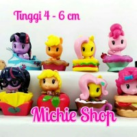Figure My Little Pony Cutie Mark Crew set 12 for Cake Toppers