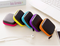E 321 Tas Penyimpanan Headset Serbaguna Bentuk Kotak earphone pouch