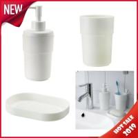 ENUDDEN 1 Set isi 3 yaitu tempat sabun batang dispenser sabun cair
