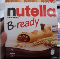 Nutella Bready isi 6 logo halal
