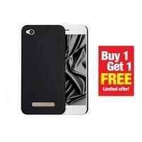 BUY 1 GET 1 FREE Case Babyskin Soft Black Matte Xiaomi Redmi 4a