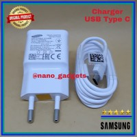 Charger Samsung GALAXY A7 A8 2018 TYPE C Fast Charging Original 100%