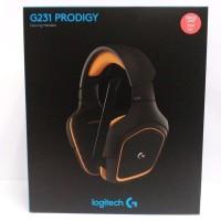 LOGITECH G231 Prodigy Gaming Headset - GARANSI RESMI 2 TAHUN