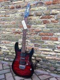 Gitar Listrik Elektrik Ibanez GRX70 QA TRB