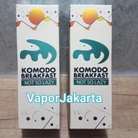 Premium Liquid Komodo Breakfast NOT So Lazy
