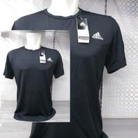 baju kaos olahraga pria adidas fitness import -