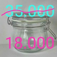 Toples Kaca IKEA Korken Jar 130 ml