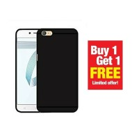 BUY 1 GET 1 FREE Case Babyskin Soft Black Matte OPPO A71