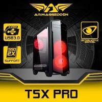 CASING PC ARMAGEDDON ZEPTRON T5X PRO WHITE OR BLACK