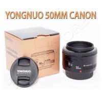 Lensa YongNuo 50mm 1.8 for Canon
