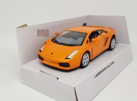 LAMBORGHINI GALLARDO (ORANGE) - SKALA 1:36 - WELLY (DIECAST-MINIATUR)