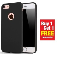 BUY 1 GET 1 FREE Case Babyskin Soft Black Matte Iphone 7