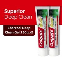 Colgate Total Charcoal Gel 150gr 2 Pcs (As2-115652-9556031206474)